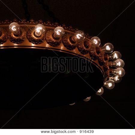 Clear Light Bulbs In Copper