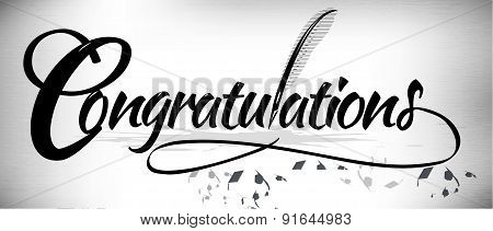 Congratulation Text Banner
