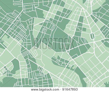 City map seamless