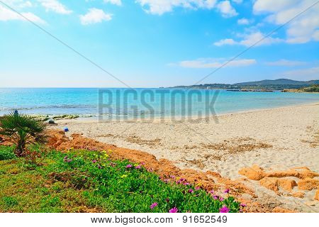 Le Bombarde Beach On A Clear Summer Day