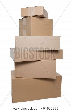 Stacked Parcels