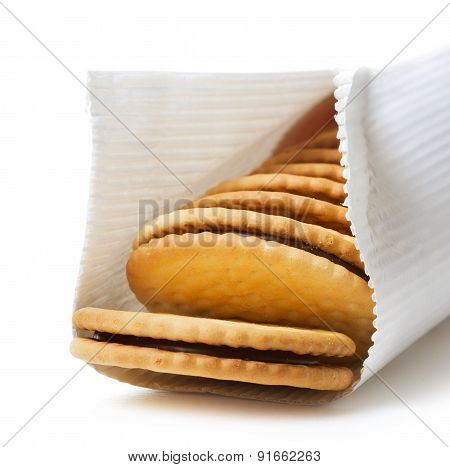 Sandwich Biscuit In Package