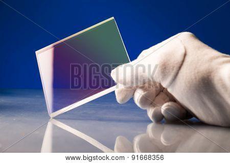 Bulletproof super hard glass based on structured nanocrystals poster