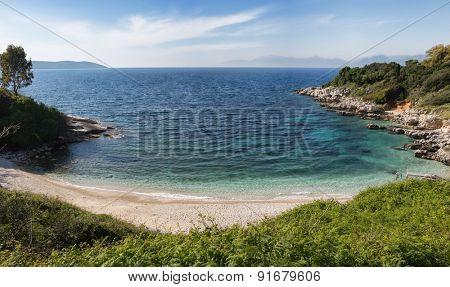 Kassiopi Beach, Corfu Island, Greece