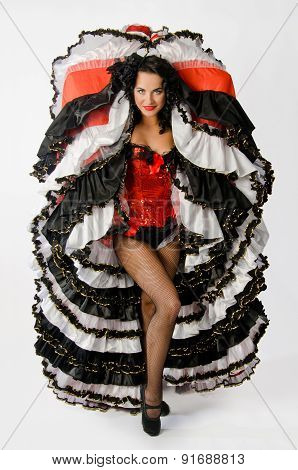 Cancan Dancer