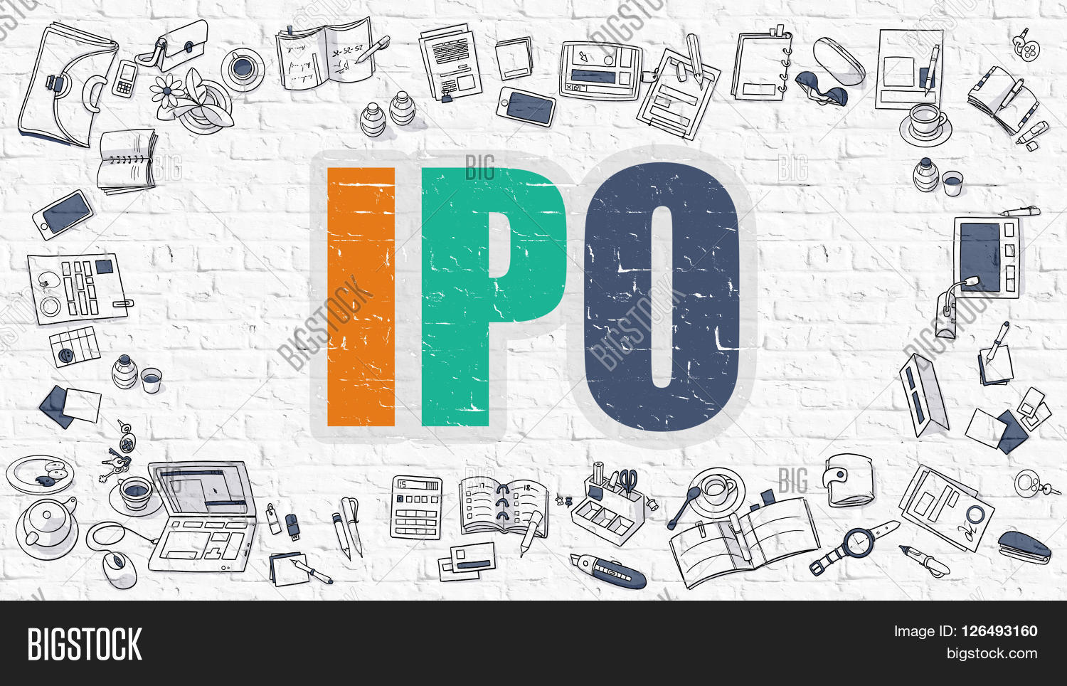 Stocks offered at ipo