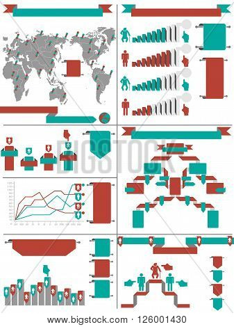 INFOGRAPHIC DEMOGRAPHIC RTERO LABBEL RED for web and other