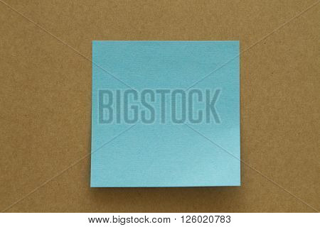 Blank Sticky Note. Write your message here.