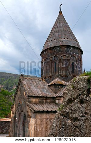 Christian temple GEGHARD monastery (Armenia) religion architecture