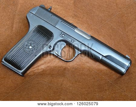 Tokarev TT-33 soviet/russian pistol, gun used in army and armed forces