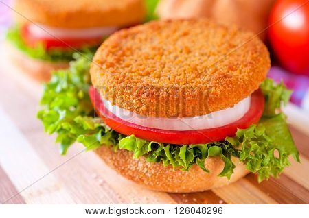 Fried Fishburger