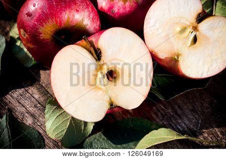 Red Organic Apples