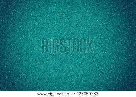 Blue spongy macro texture background close up