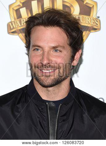 LOS ANGELES - APR 12:  Bradley Cooper arrives to the CinemaCon 2016: Warner Bros.
