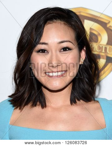 LOS ANGELES - APR 12:  Karen Fukuhara arrives to CinemaCon 2016: Warner Bros.