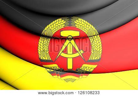Flag Of German Democratic Republic