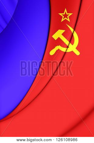 Flag Of The Russian Sfsr (1954-1991)