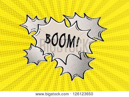 Boom Comic Speak Bubble