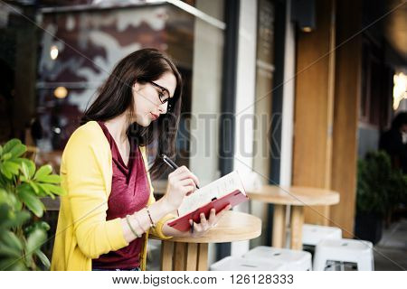 Book Cafe Lifestyles Knowledge Studying Research Concept