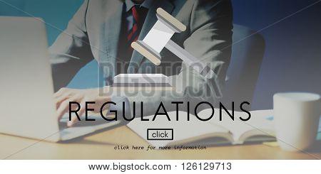 Regulations Compliance Condition Instruction Concept