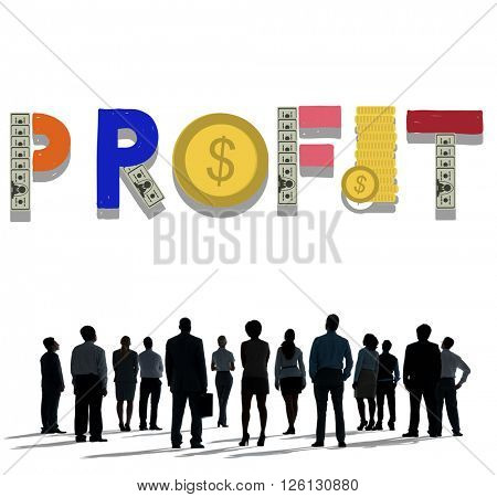 Profit Income Business Finance Money Concept
