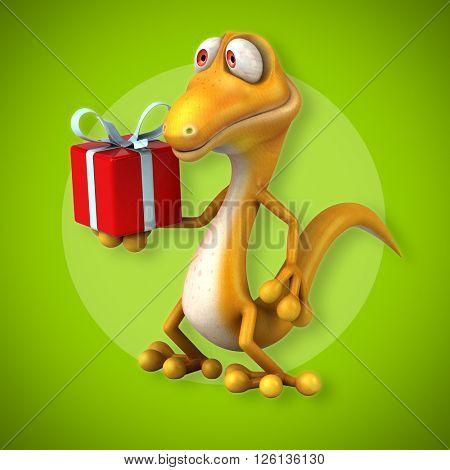 Fun lizard