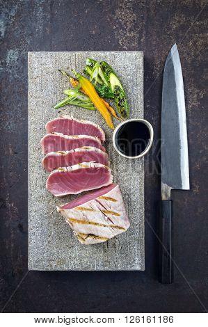 Tuna Steak with Vegetable
