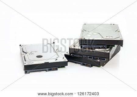 Hard Disk drive Sata ATA row stacked