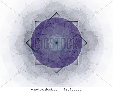 Illustration Of Gold Glittering Star Dust Circle