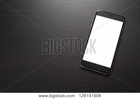 Smarphone On A Dark Table