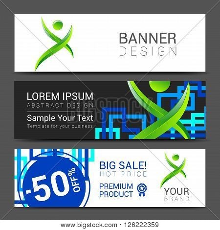 ector design technology for Cover Report Annual Brochure Flyer Poster Business cards collection, people crowd design.