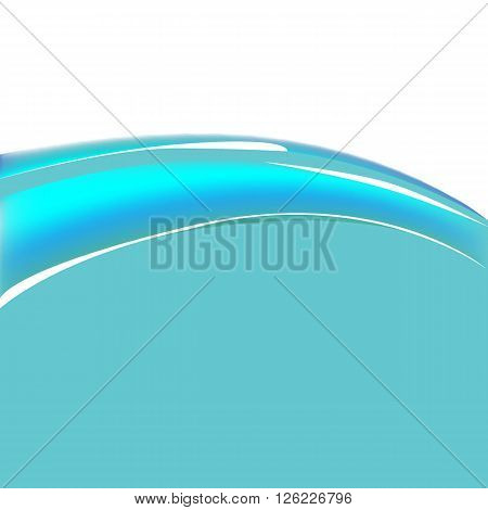 Vector illustration abstract wave water bacground art
