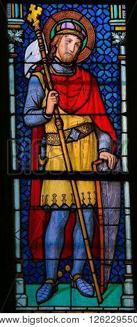 Stained Glass - Wenceslaus I, Duke Of Bohemia