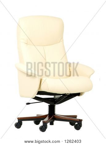 Off-White Luxury Office Chair