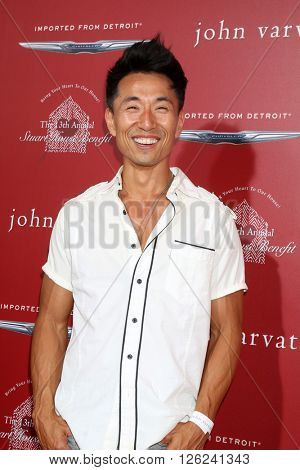 LAS VEGAS - APR 17:  James Kyson at the John Varvatos 13th Annual Stuart House Benefit at the John Varvatos Store on April 17, 2016 in West Hollywood, CA