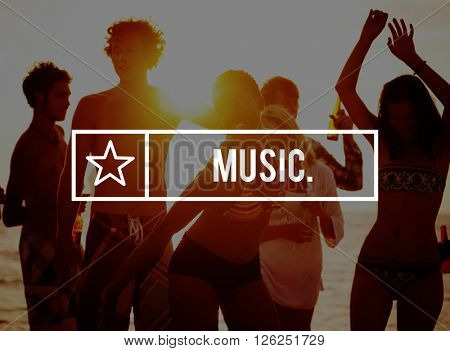 Music Instruments Melody Audio Emotions Vocal Concept