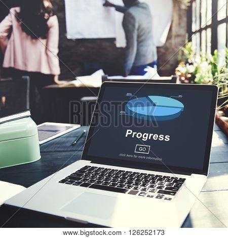 Progress Development Imrpovement Advancement Concept