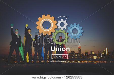 Union Unity Team Community United Concept