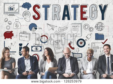 Strategy Operation Planning Tactics Vision Plan Concept