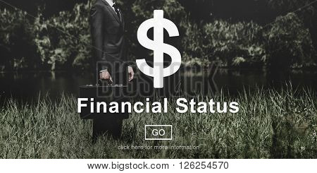 Financial Status Budget Credit Debt Planning Concept