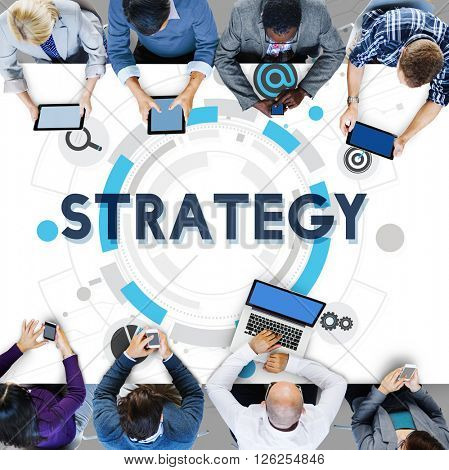 Strategy Development Statistics Solution Process Concept