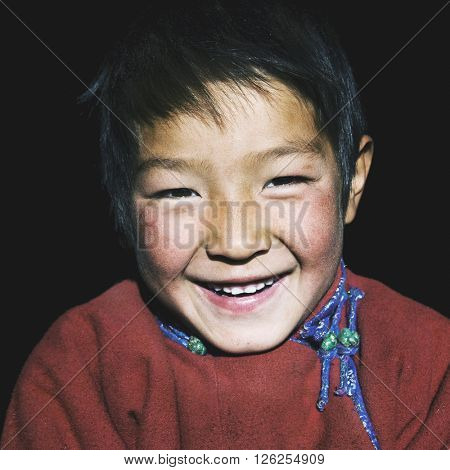 Asian Boy Beautiful Smile Adolescence Character Concept