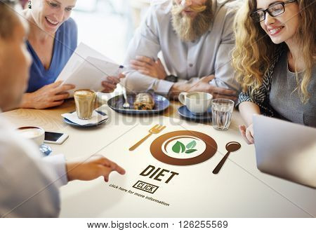 Diet Health Nutrition Life Food Eating Concept