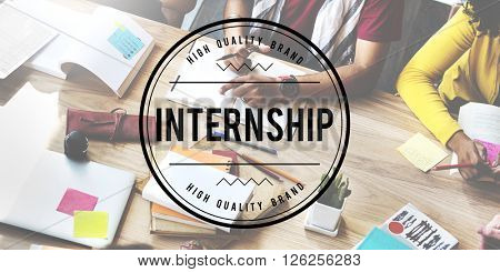 Internship Management Trainee Concept