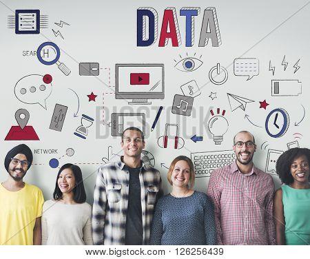 Data Digital Online Technology Media Concept