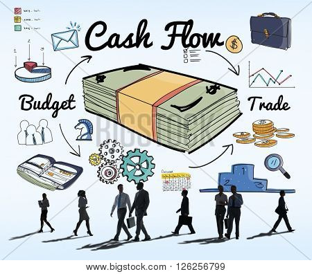 Cash Flow Economy Finance Investment Money Concept