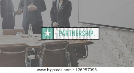 Partnership Friends TEam Support Relationship Concept