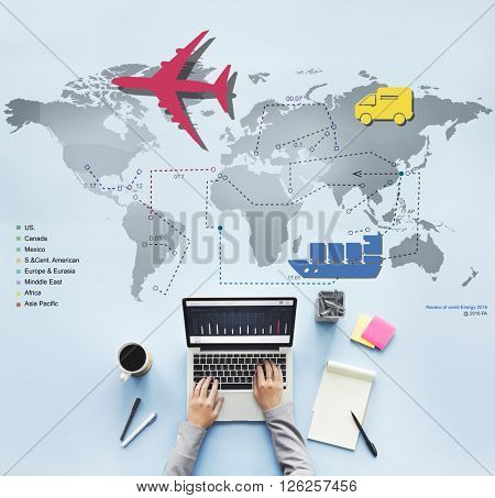 Traveling Trip Journey International Destination Concept