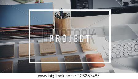 Work Project Work Management Concept