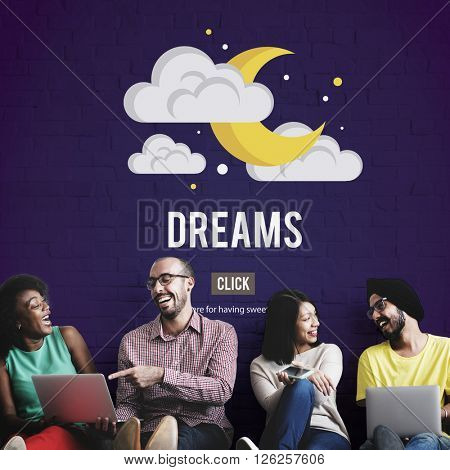 Dreams Goal Target Aspirations Inspiration Expectation Concept
